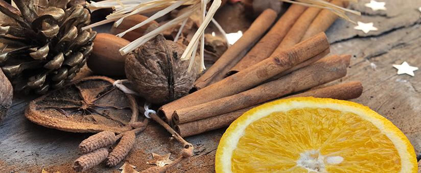 Le parfum de la Cannelle et de l'Orange